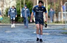 The season is over for Fergus McFadden and Kane Douglas