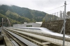 Japanese train smashes world speed record