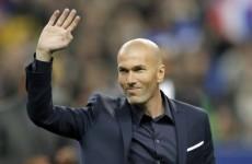 Zinedine Zidane just can't stop flirting with Premier League stars