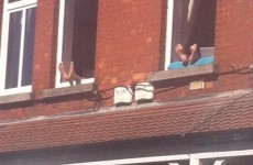 These Dubliners just figured out the perfect way to sunbathe