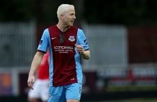 Former Sunderland midfielder sees red as Drogheda endure miserable night