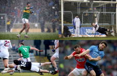 Hailstones, floodlight fail and Dubs glory – 27 of this year's best football league pictures