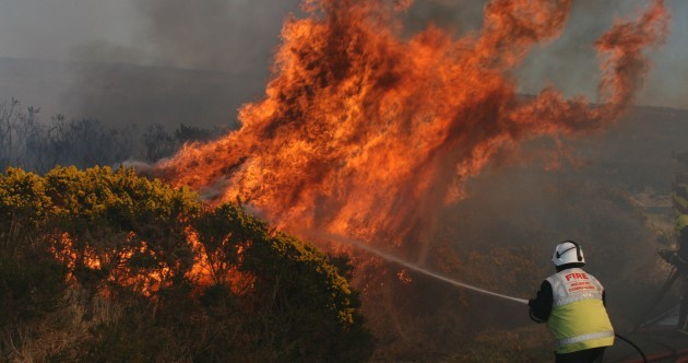 Wicklow gorse fires: 'We don't know if the house will be there when we get home'