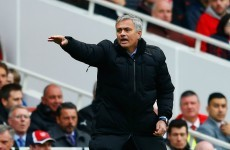 Jose Mourinho has responded those 'boring, boring Chelsea' chants