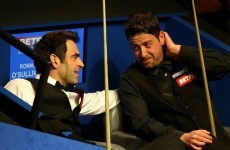 The snooker is starting to get interesting … here's the line-up for the quarter-finals