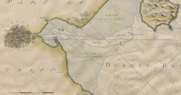 This is what Dublin Bay used to look like