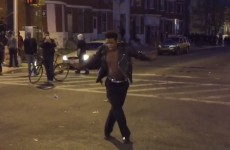 A guy dancing to Michael Jackson during the Baltimore riots is going super viral