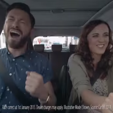 'It is not ok to sing and dance while driving a car'