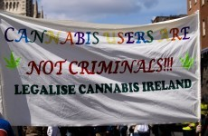 There's going to be a great big march for cannabis today in Dublin