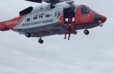Fisherman airlifted from trawler over 100 miles from Irish coast