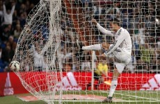 Cristiano Ronaldo threw a childish strop when a team-mate nicked his goal last night