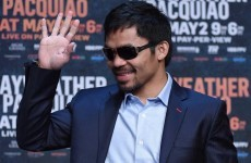 Manny Pacquiao spent $3 million on fight tickets for his legendary entourage