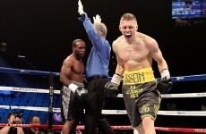 Jason Quigley maintained his 100% professional record with a devastating KO last night