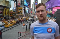 From Wexford to New York – PJ Banville has taken his love of football across the Atlantic