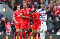As it happened: Liverpool v Queens Park Rangers, Premier League