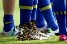Jamie Cudmore's rocking a fairly outrageous pair of boots for the Champions Cup final