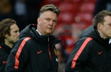 United boss Van Gaal's answer for critics after third straight defeat: 'I'm not God'