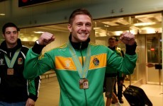 Jason Quigley's mammy was pretty emotional when he returned home unexpectedly last night