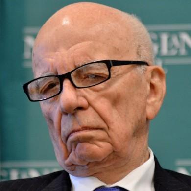 Rupert Murdoch's newspaper empire has hit the wall hard