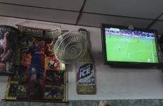 Spanish football will be suspended for two weeks because of a row over TV rights