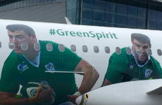 Robbie Henshaw now has his face on a plane – he'll be doing in-flight safety notices next