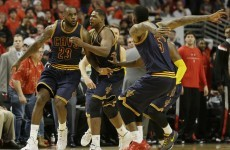 LeBron James just hit this buzzer-beater to beat the Bulls in another crazy finish