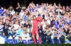 Steven Gerrard got in one last cheeky dig at Chelsea fans before he leaves for LA this summer