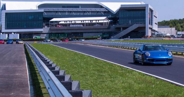 Porsche's €100 million US headquarters is an amusement park for adults