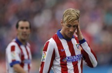 Fernando Torres scored one of his most important goals in a long time for Atletico yesterday