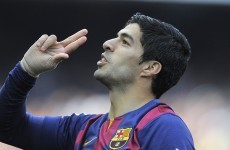 The internet went crazy after this outrageous piece of skill by Luis Suarez