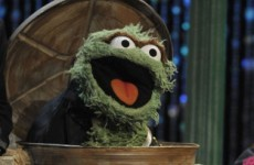 Oscar the Grouch spends his Christmases in Ireland