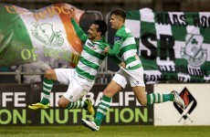 A French defender struck twice as the Hoops got the better of Longford