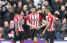 Shane Long lobs Shay Given from all of 35 yards in 6-1 drubbing of Villa