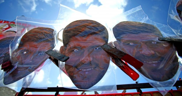 Masks, flags, t-shirts, scarves – You can't move for Gerrard merchandise outside Anfield