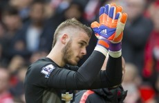 If you think David de Gea's leaving Manchester, today probably did little to change your mind