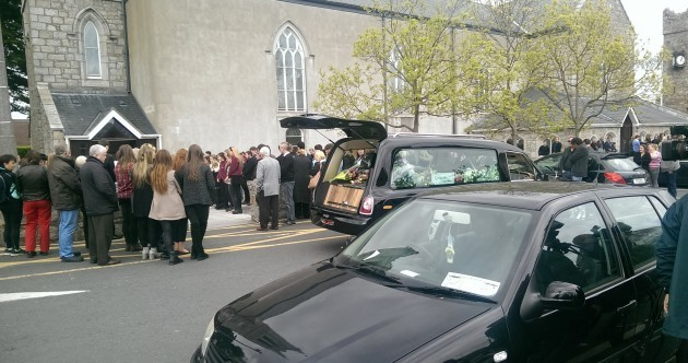 """Ana Hick's mother tells funeral: """"She lit up everyone's lives"""""""
