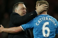 Tearful Advocaat to decide on Sunderland future 'next week'