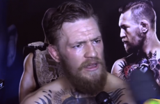 'Nutjob' Brazilian reporter asks Conor McGregor if he's afraid of Jose Aldo