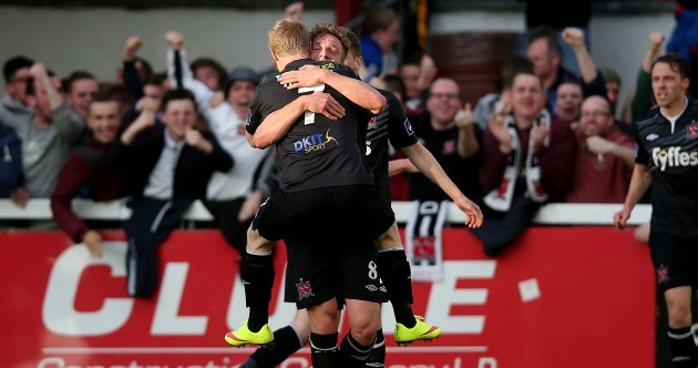 Dundalk have effectively ended Pat's title chances (if they weren't already dead)