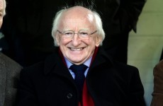 President Higgins was in Drogheda tonight – but things were Hunky Dory for the hosts, not Galway