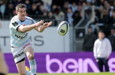 Johnny Sexton found his form for Racing Metro at the best possible time