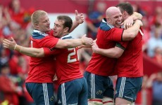Foley looks to end first season at Munster with Pro12 final success
