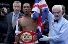 James DeGale dedicates world title to late Irish boxer Darren Sutherland
