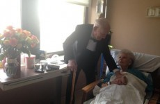 This man had the sweetest surprise for his wife on their 57th anniversary