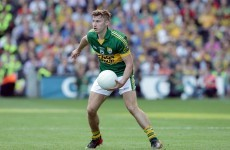 There's been another injury setback for Kerry's James O'Donoghue