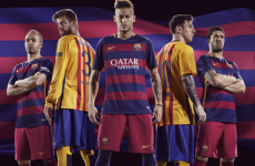 Barcelona are changing their traditional stripes to hoops for the first time ever