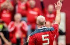 O'Connell refusing the fanfare ahead of final ever Munster appearance