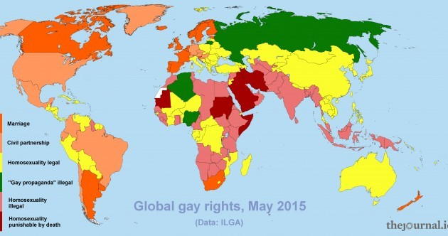 Where in the world is it hardest to be gay? (And what can Ireland do to help?)
