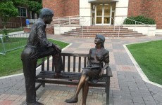 This 'sexist' statue on a college campus has become a big talking point on Twitter