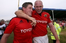ROG: Munster will move on from Paul O'Connell – that's what happens in sport